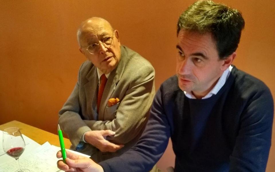 Jacques Puisais et Jérôme Chardon - assemblages du millésime 2017
